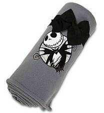 Disney Store Nightmare Before Christmas Jack Skellington Blanket Throw NEW
