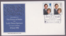 Great Britain 1981 FDC Post Office Cover Marriage Prince Diana Lincoln Cathedral