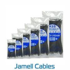 KSS Nylon Cable Ties 203mm x 4.6mm Pkt 1000 CV-200KW