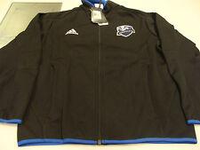 MLS Soccer Montreal Impact 2012 Sideline Stadium Jacket Full Zip XXL Adidas