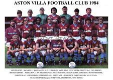 ASTON VILLA TEAM PRINT 1984 (WITHE / CURBISHLEY / DORIGO)