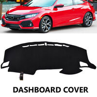 For Honda Civic VTi VTi-S VTi-L RS 2016 - 2018 Dash Mat Dashmat Dashboard Cover