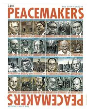 Micronesia - 2000 - Peacemakers Sheet of 24 Stamps - Gandhi - JFK - MLK Stamps