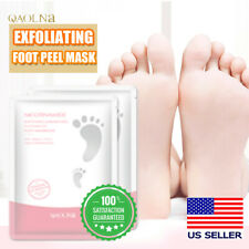 8Pairs Exfoliating Foot Peeling Mask Feet Peel Mask Remove Dead Skin Calluses