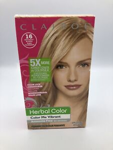 Clairol Herbal Essences Color Me Vibrant # 16 Knockout Blonde Rubio NEW