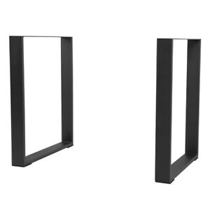 """28"""" Heavy Duty Square Computer Desk Table  Legs Iron DIY furniture Home Industry"""