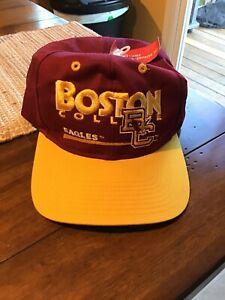 New Boston College Eagles Twins Enterprise Vintage 90s Adjustable SnapBack Hat