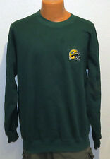 vtg Champion GREEN BAY PACKERS SWEATSHIRT LARGE warmup 90s nfl sewn logo