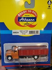 Ho Athearn 1968 Ford F-850 F850 grain truck orange RTR