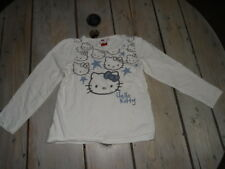 T-shirt manches longues blanc imprimé HELLO KITTY Taille 5 ans