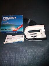 Vintage Sanyo (A200N) Tourist Travel Iron Dual Voltage