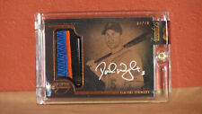 2014 Topps Dynasty David Wright Autographed 3-Color Relic Card.