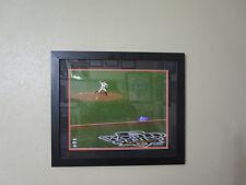 Giants Matt Cain Signed/Mat/Framed 16X20 Photo 2010 World Series Mlb #Lh935217