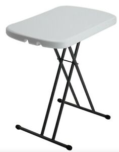 Lifetime Adjustable Height Personal Camping Table