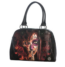 Sullen Angels - BAD GIRL Tattoo Bowler Bag - Elvin Yong BRAND NEW Handbag