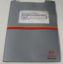 Werkstatthandbuch Seat Ibiza Cordoba Radio Telefon Navigation ab 2002 / 2003