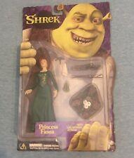 Rare Princess Fiona Leg Kicking Action Figure Shrek 2001 McFarlane Unopened New