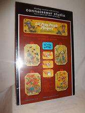 MIB VTG 1974 Lil Posy People Plaques Decoupage kit Connoisseur Studio SEALED