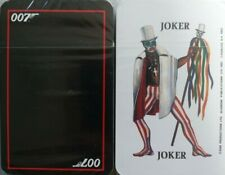 VTG 1987 JAMES BOND PLAYING CARDS DECK LITTLE LEAD SOLIDERS BRAND NEW SEALED