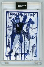 Topps Project 2020 Derek Jeter by Gregory Siff #93 In Hand With Box 6