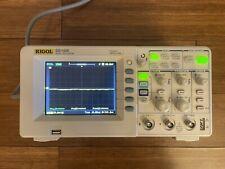New Listingrigol Ds1102e Digital Oscilloscope 2 Channel 100mhz 1gsas