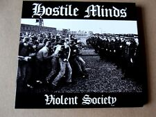 HOSTILE MINDS violent society CD 300 only digipak OI! feat ARCH RIVALS member