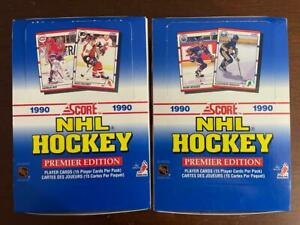 1990 Score NHL Hockey Broduer Jagr RC's? 2 Box Lot 36 Packs