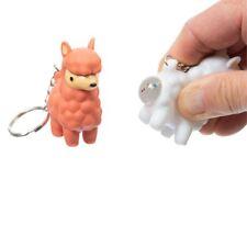 Funtime Gifts FU7360 Poopoo Llama Keyring Multi