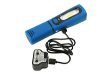 Laser Tools 3w COB Work Light UV ABS Flexible Magnetic USB Rechargeable