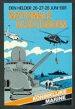 Nationale Vlootdagen Koninklijke Marine Den Helder 26-27-28 juni 1981