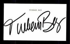 Turhan Bey Original Signiert # BC 67167