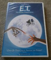 E.T. The Extra-Terrestrial DVD 2005 Single Disc Edition Factory Sealed NEW