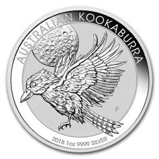 Australia $ 1 Kookaburra 2018 1 oz .9999 Silver Coin