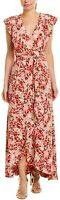 Wayf Sara Maxi Wrap Dress  Size M # 9NB 307 NEW
