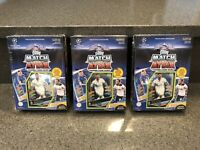 (3) 2016-17 TOPPS UEFA CHAMPIONS LEAGUE  SOCCER MATCH ATTAX TWO-PLAYER BOXES