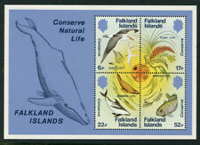 Falkland Is 1984 Wildlife Conservation S/S Sc# 415a NH