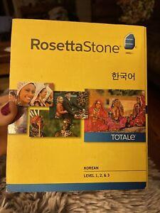 Rosetta Stone Korean Level 1, 2, & 3