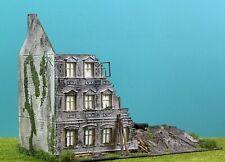 🤞Diorama H0 / 1:87 Faller Abbruch-Haus Gebäude Patiniert# Modellbau aus Potsdam