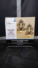 Mainstays Tealight Wall Sconces (2 Pack)