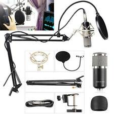 Professional Condenser Microphone Kit Complete Set for Studio Recording BM800