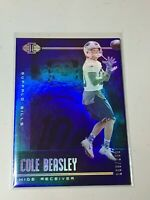 F47490  2019 Panini Illusions Trophy Collection Blue #8 Cole Beasley /299 Bills