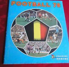 FOOT PANINI sticker album FOOTBALL 78 België Belgique 1978 complete + order form