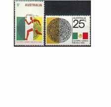 Australia 1968 MEXICO OLYMPICS Set (2) Unhinged Mint SG 428-9