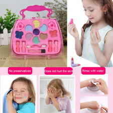 Kids Girls Makeup Set Eco-friendly Cosmetic Pretend Play Kit Princess Toy Beauty
