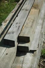 """Antique 1870s Rustic Reclaimed Architectural Wood Beam Hickory? 8' 4""""x5.5""""x3.5"""""""