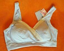iLoveSIA Womens Lace Wire Free Pretty Maternity Nursing Bra Lavender 34B