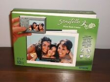 """EPSON StoryTeller PHOTO BOOK CREATOR, 5"""" x 7"""" 10 Page Book ~ New in Sealed Box"""