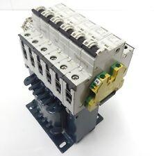 ELTRA NT 0,32-21-MSA Trenn-Transformator Pri 450V Sec 230V 320VA 6x 5SY41 MCB C2