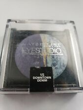 Maybelline Eyestudio Eyeshadow Duo 15 Downtown Denim