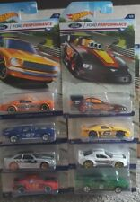 HOT WHEELS FORD PERFORMANCE SET OF 8